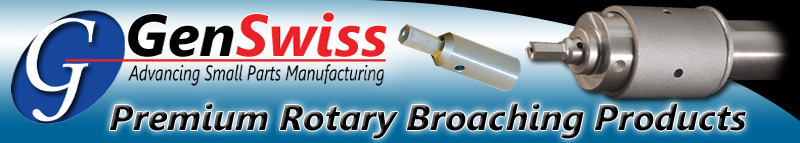 Premium Rotary Broaching Products and Broach Tools